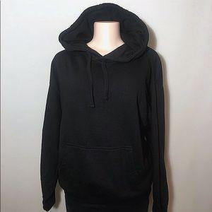 VOP Cotton Black Hoodie